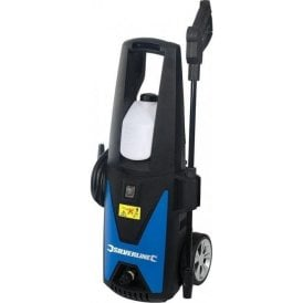 Silverline 135 bar Pressure Washer (inc 5m hose, detergent dispenser, & lance) 101389
