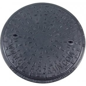 Solid Top Cast Iron Manhole Cover and Frame 450mm CLKS 1657 KMB for PPIC