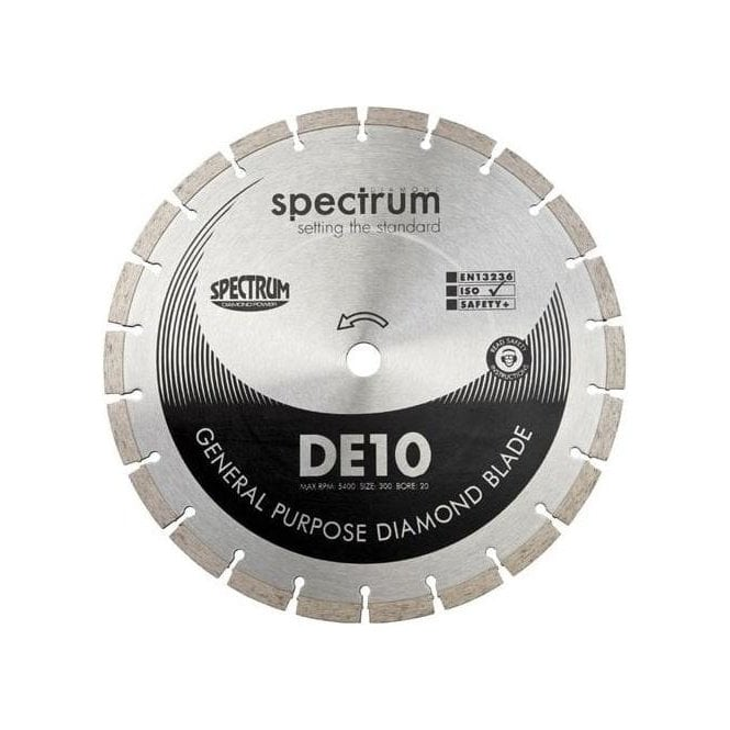 Spectrum DE10-300/20 General Purpose Diamond Blade 300mm