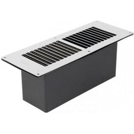 Stadium BM435/C Chrome Standard Floor Ventilator