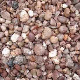 Staffordshire/Cheshire Pink Gravel 20mm 25kg Bag