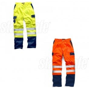 Standsafe HV039 Two Tone Polycotton Trousers