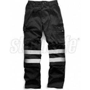 Standsafe Security Polycotton Trousers Black HV023