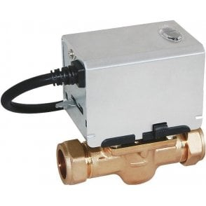 Strom SSZV2222 2-Port Motorised Valve 22MM