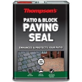 Thompsons Patio & Block Paving Seal Wet Look 5L 36312