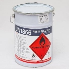 Top Coat Resin (Dark Grey) 5kg