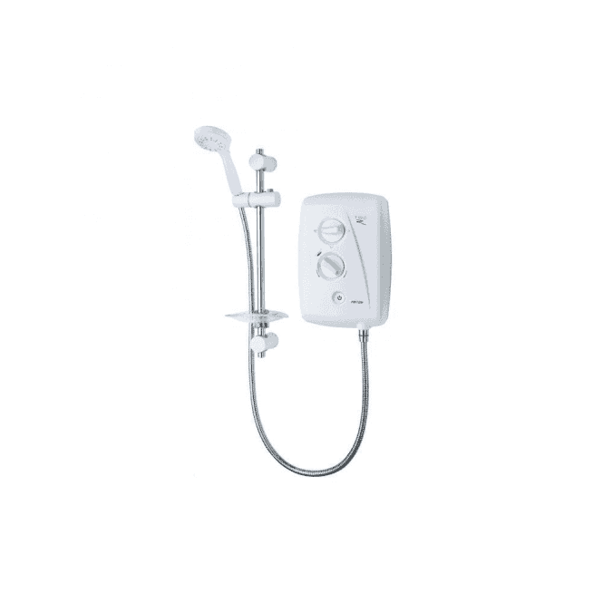 Triton T80Z Fast Fit 10.5kW Electric Shower White/Chrome