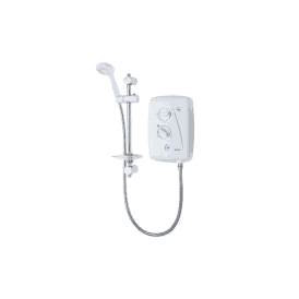 Triton T80Z Fast Fit 8.5kW Electric Shower White/Chrome