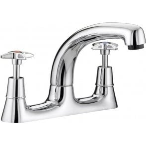 Value Cross Top Deck Sink Mixer VAX DSMC