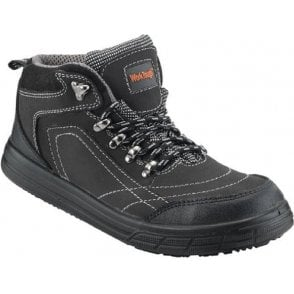 Work Tough 78SM Work Boots Nubuck Leather Black